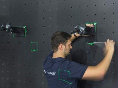 Laserbasierte Montagehilfe (LBM)